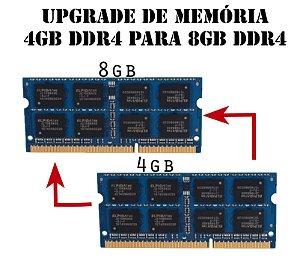 Upgrade de Memória sodimm DDR4 4Gb Para 8Gb DDR4, ( All In One h110 e h310 de 6Th.7Th e 8Th)