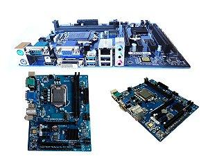 Motherboard IPMH310 pro 1151 8º Ger. DDR4, 4 SATA 6Gb/s, 10 USB (4 USB 3.0 + 6 USB 2.0), HDMI, VGA, DVI,  PS/2