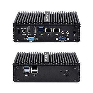 MINI PC INDUSTRIAL ARFO MOD. AR-1510, CELERON N3150, 4GB, SSD 128GB, 2 HDMI,  1 SERIAL, 1 VGA, 6 USB, 2 LAN, PADRÃO VESA  com linux