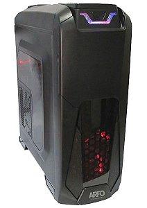 COMPUTADOR GAMER ARFO INTEL I7-7700 7ª GERAÇÃO, Gabinete Gamer, Mother Gamer Z270, 8Gb DDR4, SSD M.2 120GB, fonte de 400W, placa de video 1060 TI 4GB, 128BIT, Com Linux