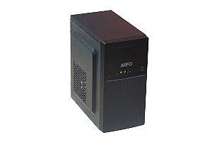 COMPUTADOR ARFO MOD. AR-4105 PRO QUAD CORE, 4GB, HD 320GB - DESKTOP GABINETE TORRE 2 BAIAS