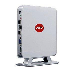 MINI PC HOME ARFO MOD. AR-1135, AMD, 4GB, SSD mSATA 128GB, 6 USB, 1 LAN (wi-fi opcinonal nao inclusa) com linux