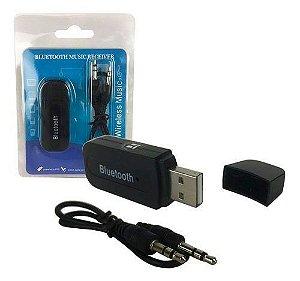 Adaptador Bluetooth Music Receiver Usb P2 Yet-m1 Preto