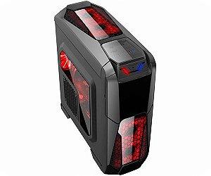 COMPUTADOR GAMER ARFO i7-9700 12M Cache, up to 4.70 GHz 9 geração, PLACA MÃE GIGABYTE H310M M.2 2.0, Gabinete Gamer, 4Gb DDR4, SSD 128GB, fonte de 400W, placa de vídeo GT 710 1GB DDR3 64BIT, Com Linux