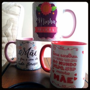 Caneca colorida personalizada - 325ml