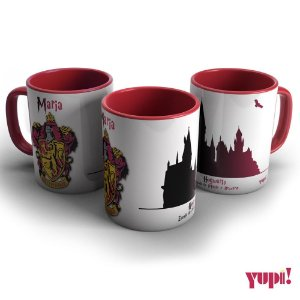 Caneca Harry Potter - GRIFINÓRIA ROGWARTS - 325ml