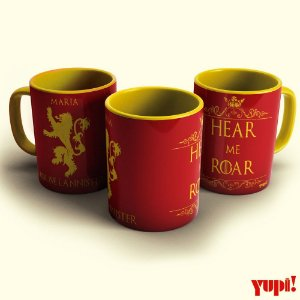 Caneca Game of Thrones - LANNISTER - 325ml