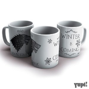 Caneca Game of Thrones - STARK - 325ml