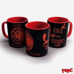 Caneca Game of Thrones - TARGARYEN - 325ml