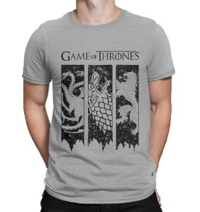 Camiseta Três Casas - Game of Thrones