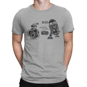 Camiseta Droides Star Wars