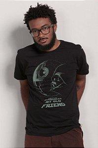 Camiseta Star Wars - Darkness my old friend