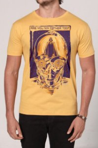 Camiseta C3P0 - Star Wars