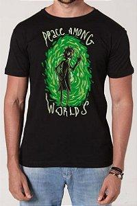 Camiseta Peace Among Worlds