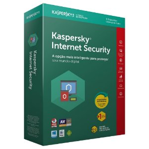 Kaspersky Internet Security 2020 - Licença - 01 PC - 01 Ano