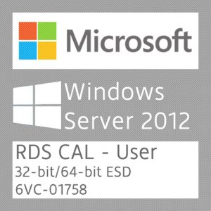 Microsoft Windows Server 2012 R2 - 05 RDS CAL - User - Licença + NF-e