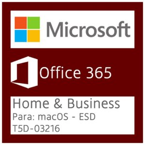 Microsoft Office 365 Home & Business - Para: macOS - Vitalício - Licença + NF-e