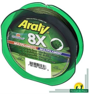 Linha Araty 8X Multifilamento 120 Mts