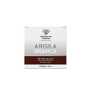Bothanica Mineral Sabonete Barra de Argila Branca 100g
