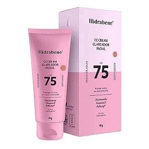 Hidrabene CC Cream Clareador Facial FPS 75 40g