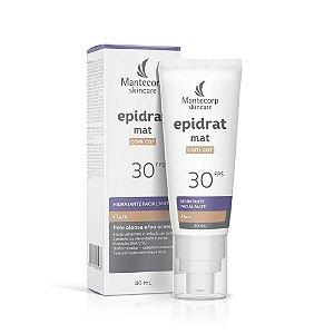 Mantecorp Skincare Epidrat MAT com Cor Claro FPS30 40ml