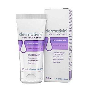 Galderma Dermotivin Benzac Oil Control Hidratante Matificante 50ml