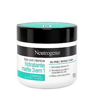 Neutrogena Face Care Intensive Hidratante Matte 3 Em 1 100g