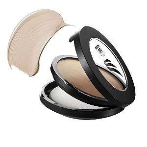 Pinkcheeks Pó Facial Cremoso Cream Powder Sport Make Up Bege FPS 60 14g