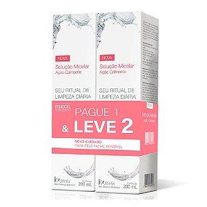 Stiefel Fisiogel Solução Micelar Ação Calmante 200ml Leve 2 e Pague 1