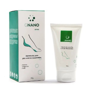 Gnano Derme Creme Hidratante Para Pés e Áreas Ressecadas 60g