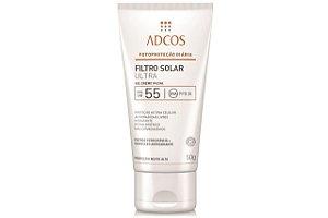 Adcos Filtro Solar Ultra FPS55 Gel Creme 50g