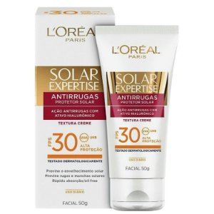 Loreal Paris Solar Expertise Facial Antirrugas FPS30 50g