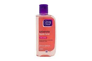 Clean & Clear Sabonete Líquido Facial 200ml