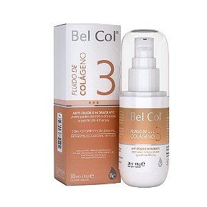 Bel Col Fluído de Colágeno 3 Hidratante e Anti-idade 30ml