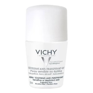 Vichy Desodorante Antitranspirante 48h Roll On Peles Sensíveis 50ml
