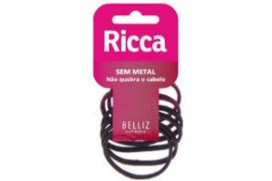 Ricca Elasticos 6Mm S/ Metal 6un Cod 896