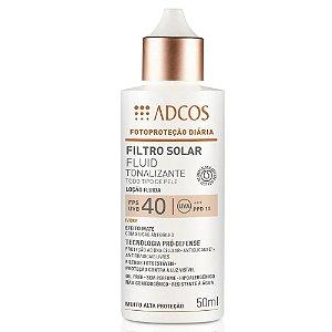 Adcos Filtro Solar Fluid Tonalizante FPS40 Ivory 50ml