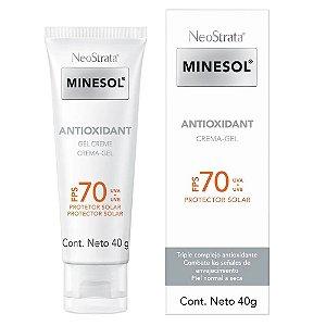 Neostrata Minesol Antioxidante Gel Creme FPS70 40g