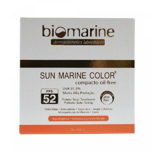Biomarine Sun Marine Color Compacto FPS52 Bronze 10g