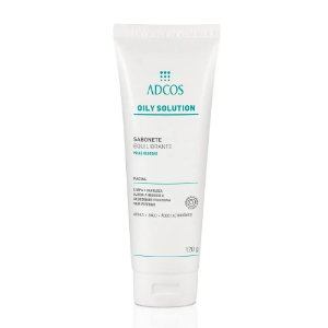 Adcos Oily Solution Sabonete Facial Equilibrante 120g