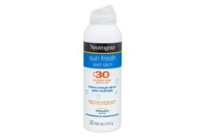 Neutrogena Sun Fresh Wet Skin FPS30 180ml