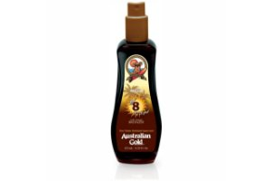 Australian Gold Spf 8 Instant Bronzer Spray Gel 125ml