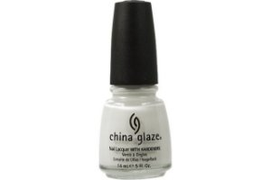 China Glaze Esmalte Nail Lacquer White On White 023 14ml