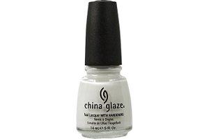 China Glaze Esmalte Nail Lacquer White On White 023 14ml