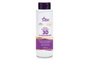 Magic Color Gloss Matizador 3D Platinum Branco 500ml