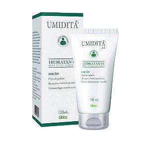 Libbs Umiditá Ai Loção Hidratante para Peles Sensíveis 120ml