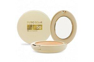 Adcos Filtro Solar Tonalizante  FPS50 pó compacto 11g Beige