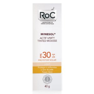 Roc Minesol Actif Tinted Mousse Light FPS30 40g