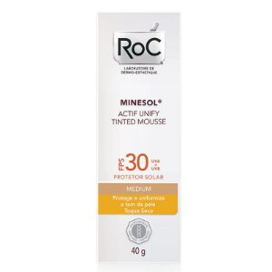Roc Minesol Actif Tinted Mousse Medium FPS30 40g