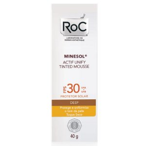 Roc Minesol Actif Tinted Mousse Deep FPS30 40g
